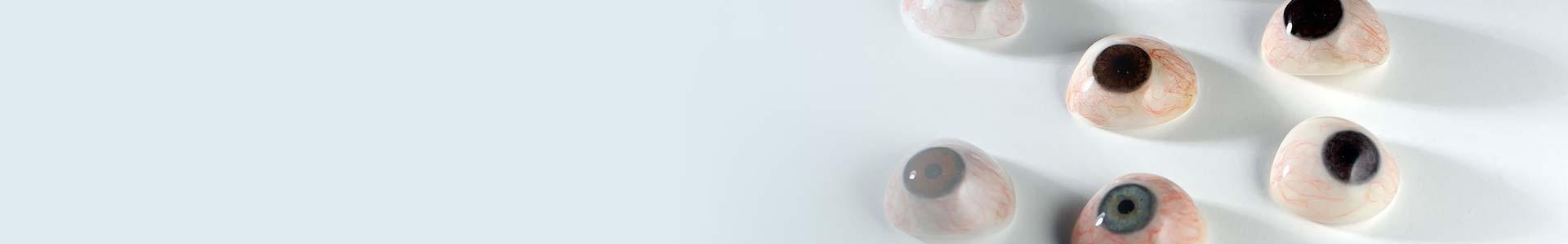 prótesis ocular personalizada
