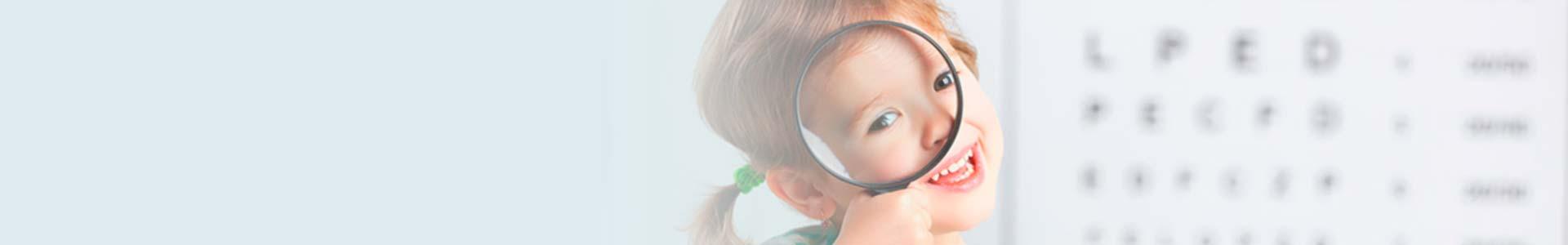 lentes de contacto para niños y niñas