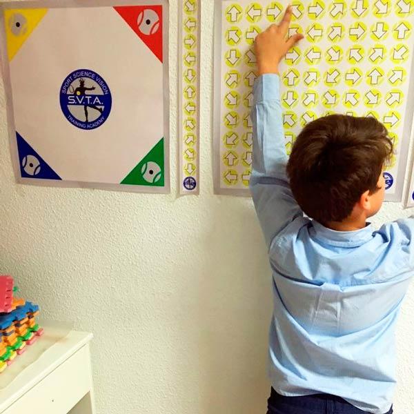 Terapia visual infantil